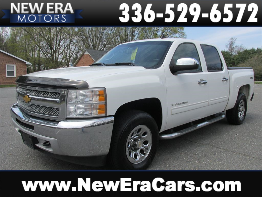 2013 Chevrolet Silverado 1500 LT Crew Cab 4WD for sale by dealer