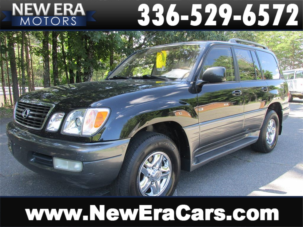 2000 Lexus LX 470, 4WD, Leather, NO Accidents for sale by dealer