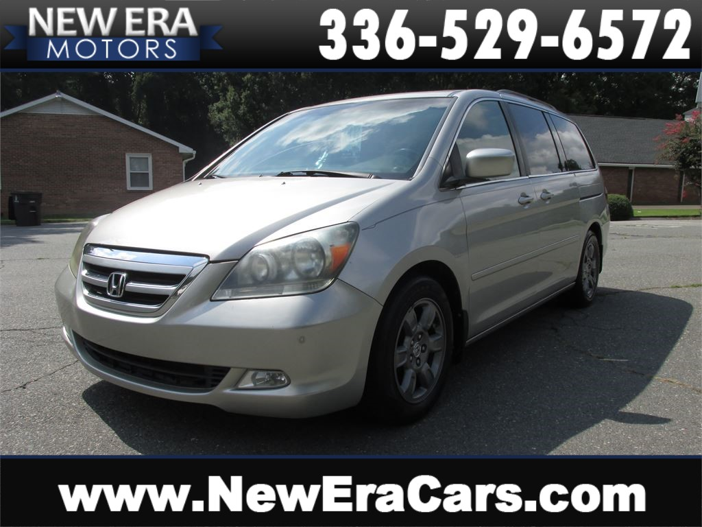 2005 Honda Odyssey Touring w/DVD, Leather, Seats 7 for sale by dealer