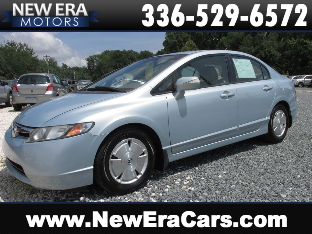 2007 Honda Civic Hybrid, NO Accidents, 50+ MPG for sale by dealer