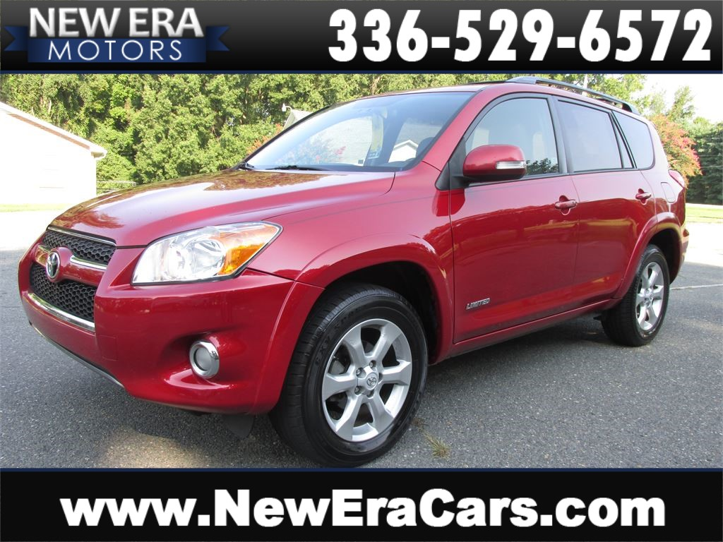 2010 Toyota RAV4 Limited I4, Leather, Sunroof, Clean for sale by dealer