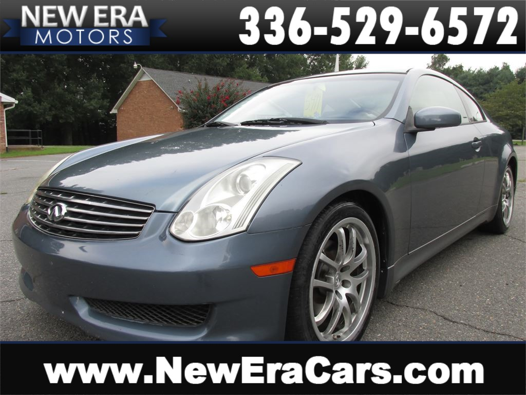 2006 Infiniti G35 Coupe, RWD, 300+ HP, Leather, Alloys for sale by dealer