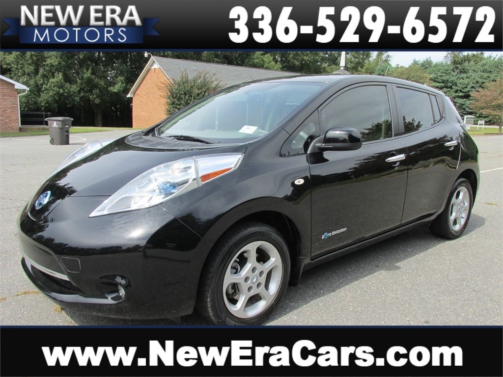 2012 Nissan LEAF SL, No Accidents, Fully Electric for sale by dealer