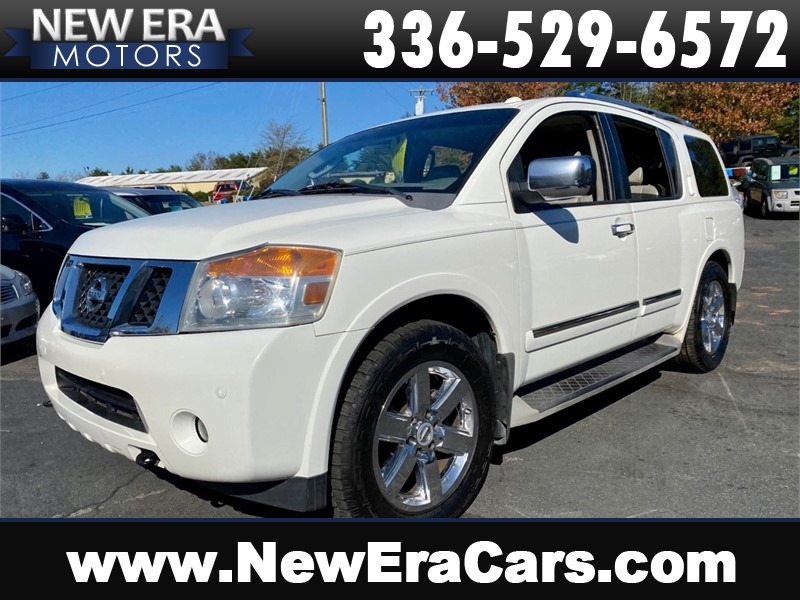 2010 NISSAN ARMADA PLATINUM Loaded and Locked CHEAP for sale by dealer