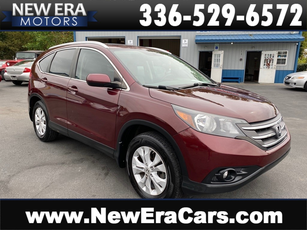 2012 HONDA CR-V EXL, Leather, Rear DVD for sale by dealer