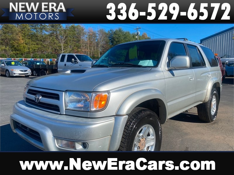 2000 TOYOTA 4RUNNER SR5 4x4 Clean Southern owned for sale by dealer