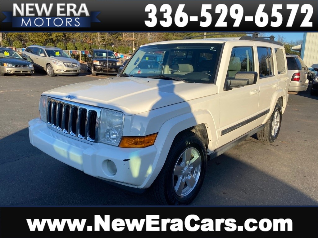 2007 JEEP COMMANDER 2 Owners, 4x4 3rd row for sale by dealer