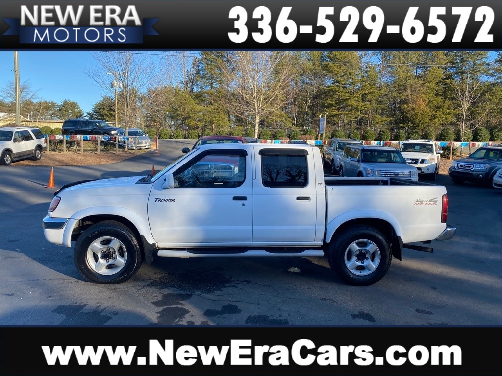 2000 NISSAN FRONTIER CREW CAB XE for sale by dealer
