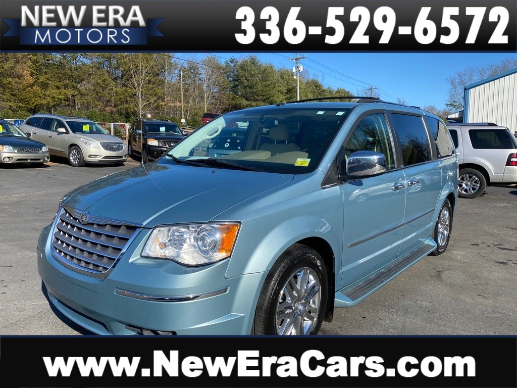 2008 CHRYSLER TOWN & COUNTRY LIMITED-2 OWNERS for sale by dealer