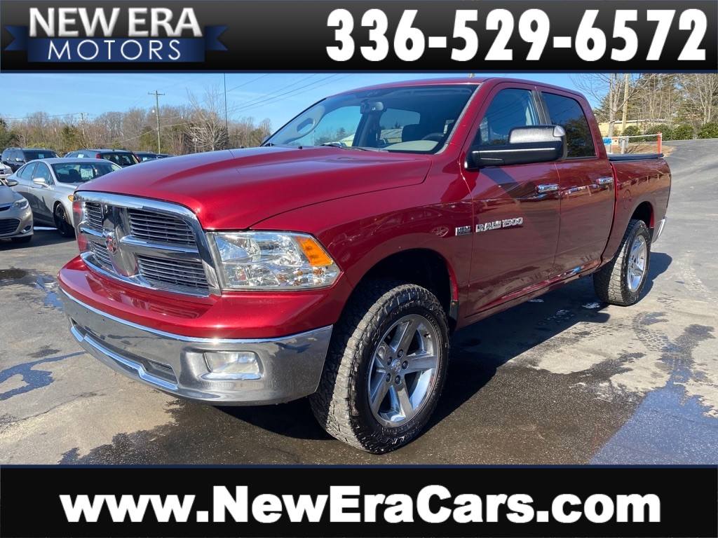 2012 DODGE RAM 1500 SLT BIG HORN NO ACCIDENTS for sale by dealer