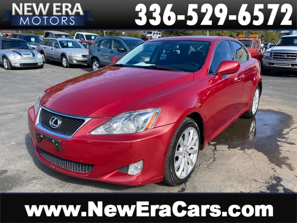 2008 LEXUS IS 250 GOOD SERVICE RECORDS for sale by dealer