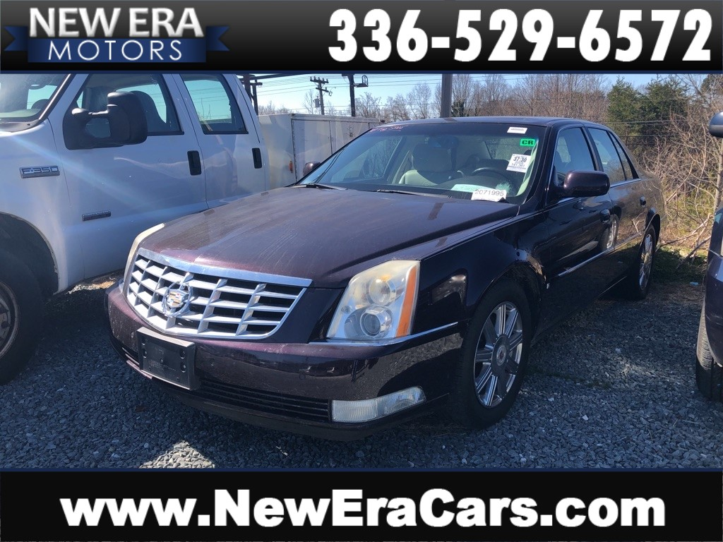 2008 CADILLAC DTS NO ACCIDENTS for sale by dealer