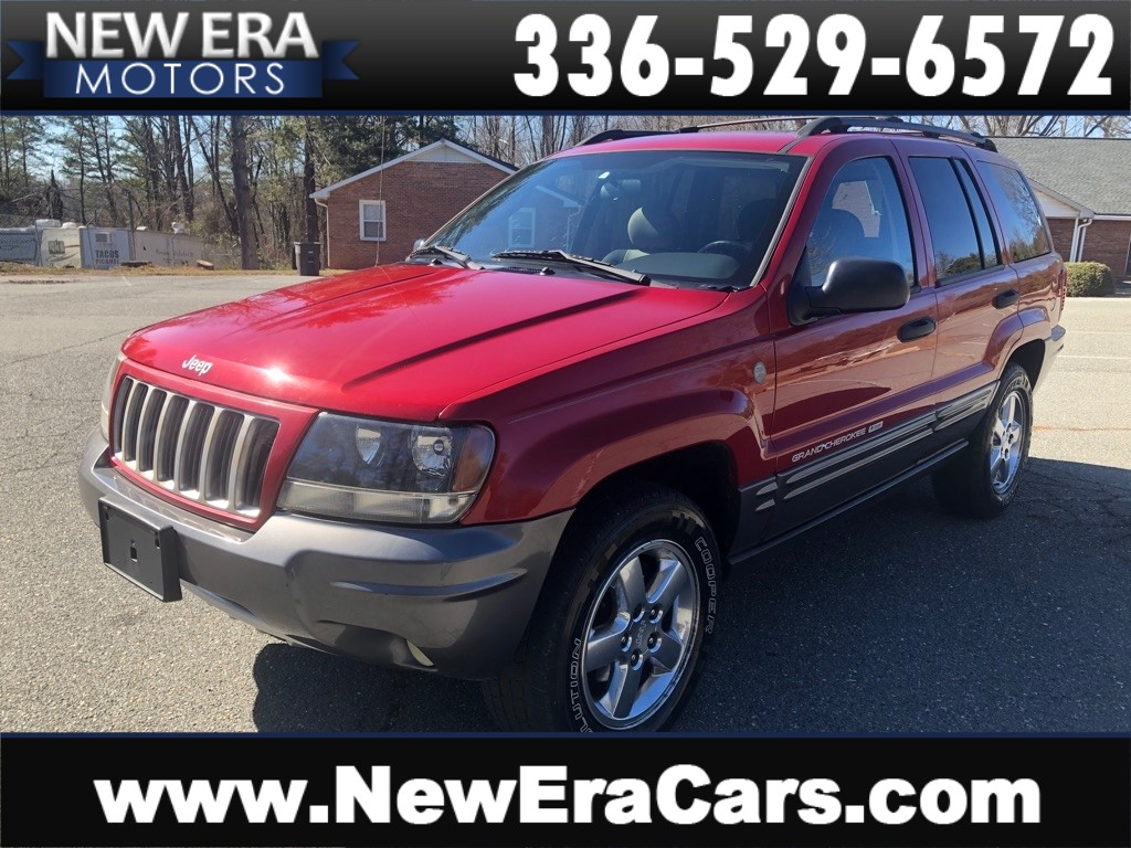 2004 JEEP GRAND CHEROKEE LAREDO NO ACCIDENTS for sale by dealer
