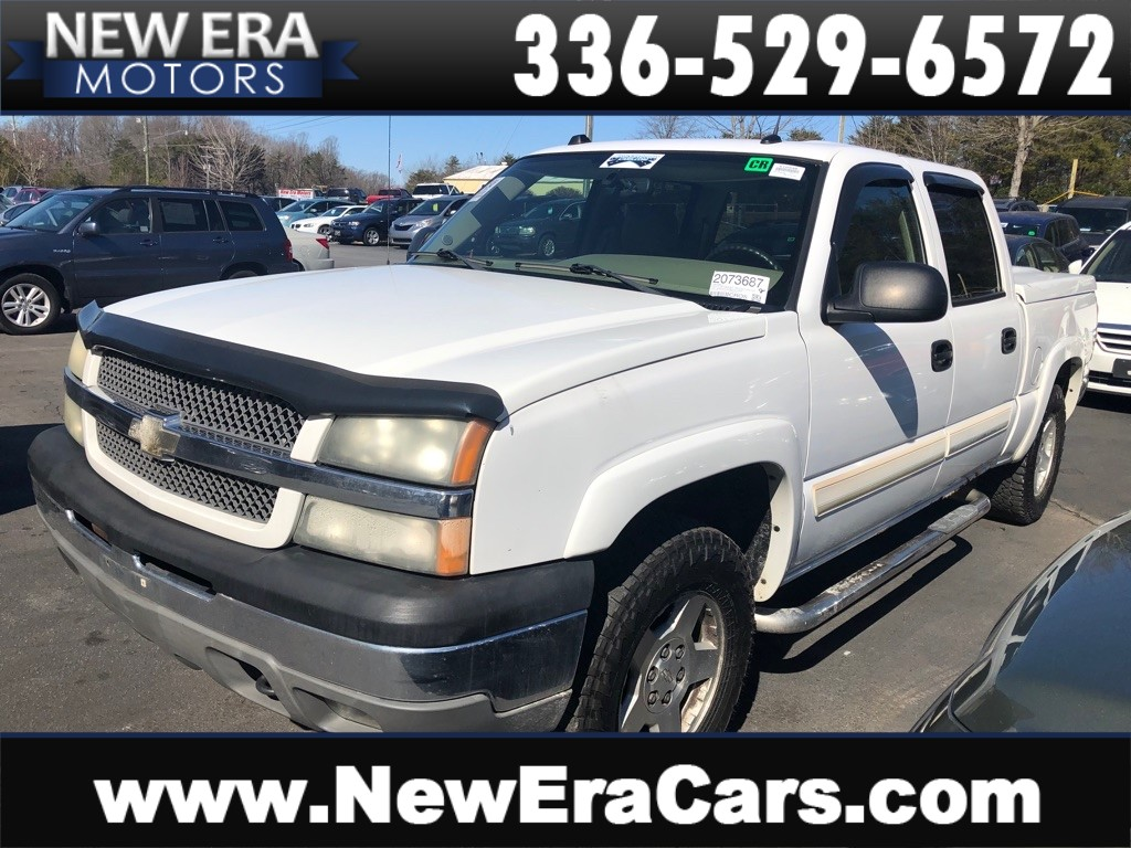 2004 CHEVROLET SILVERADO 1500 CREW CAB NO ACCIDENTS for sale by dealer