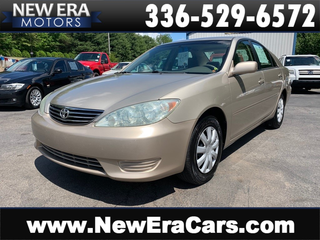 2006 TOYOTA CAMRY LE NO ACCIDENTS NC OWNED for sale by dealer