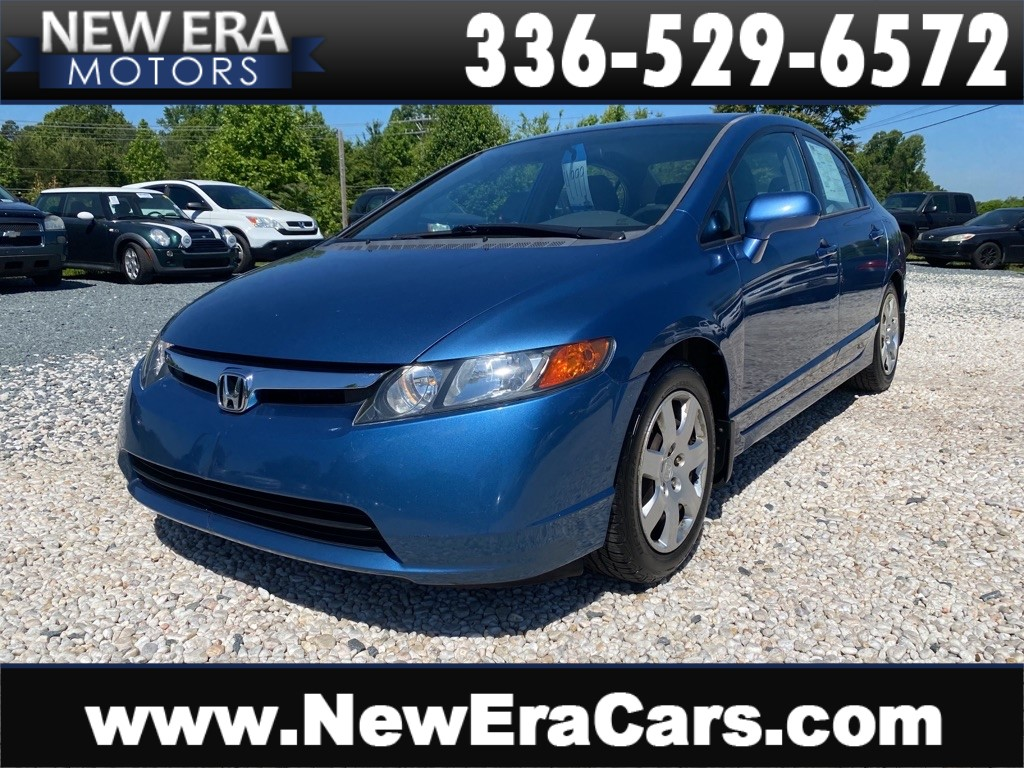 2006 HONDA CIVIC LX NO ACCIDENTS 55 SVC RECORDS!!! for sale by dealer