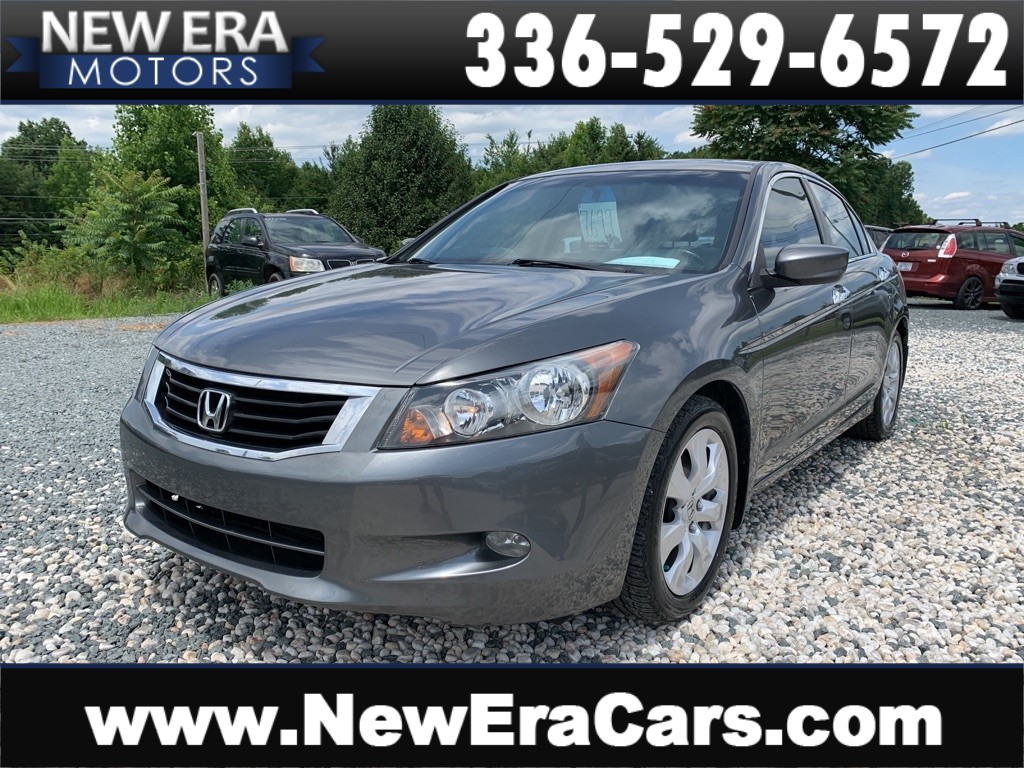 2010 HONDA ACCORD EXL 3 NC OWNERS for sale by dealer