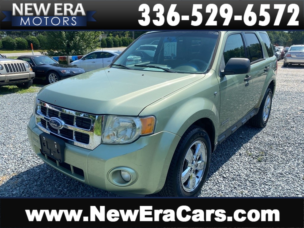 2008 FORD ESCAPE XLT NO ACCIDENTS for sale by dealer