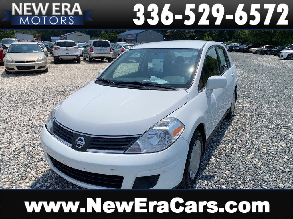 2008 NISSAN VERSA S NO ACCIDENTS for sale by dealer